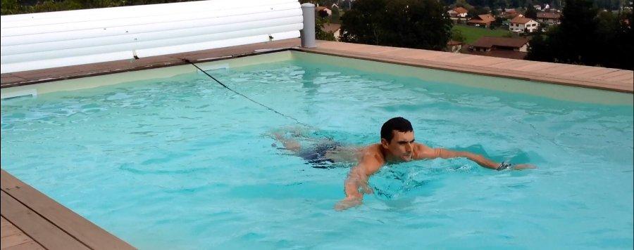 cintura elastica per nuoto
