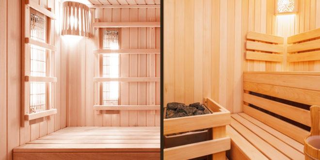 differenze tra infrasauna e sauna finlandese